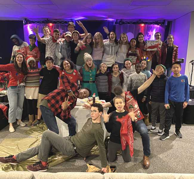Antioch churches in waltham youth group