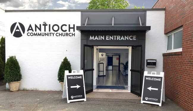 antioch community churches in Waltham history